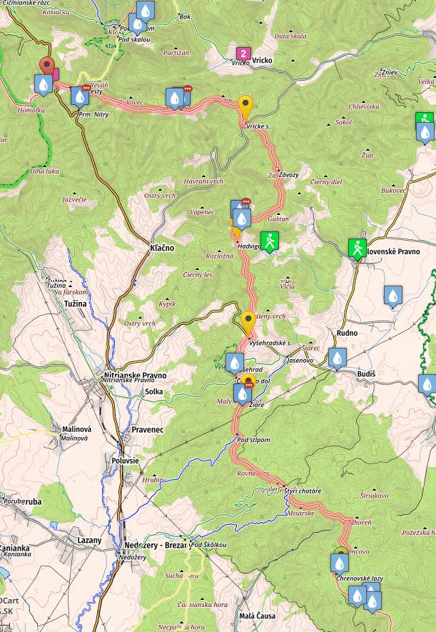 SNP Trail, stage 18, Jalovske Lazy - Fackovske Sedlo