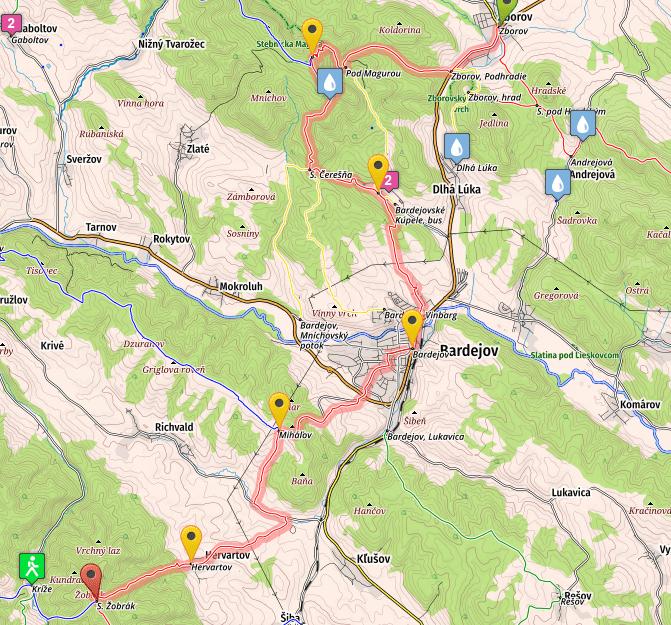 Zborov - Zobrak, stage 3, SNP trail, E8 in Slovakia
