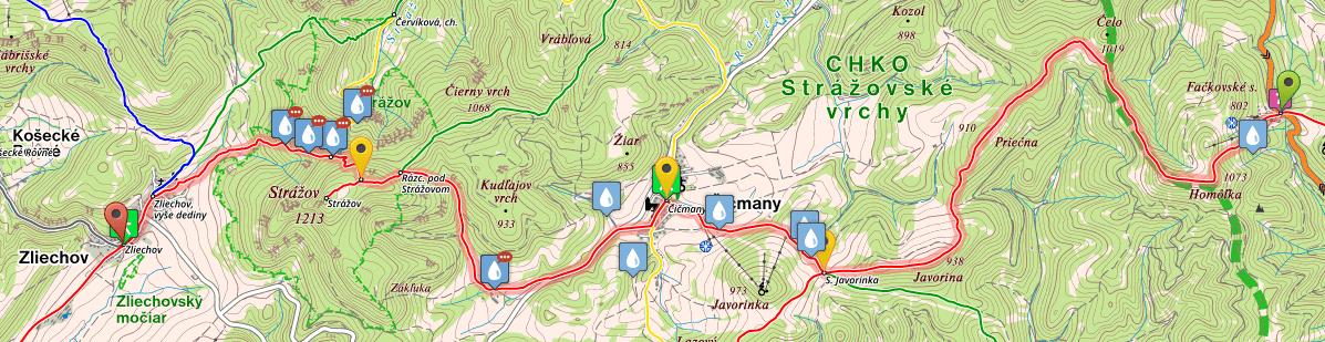 SNP Trail, stage 19, Fackovske Sedlo - Zliechov