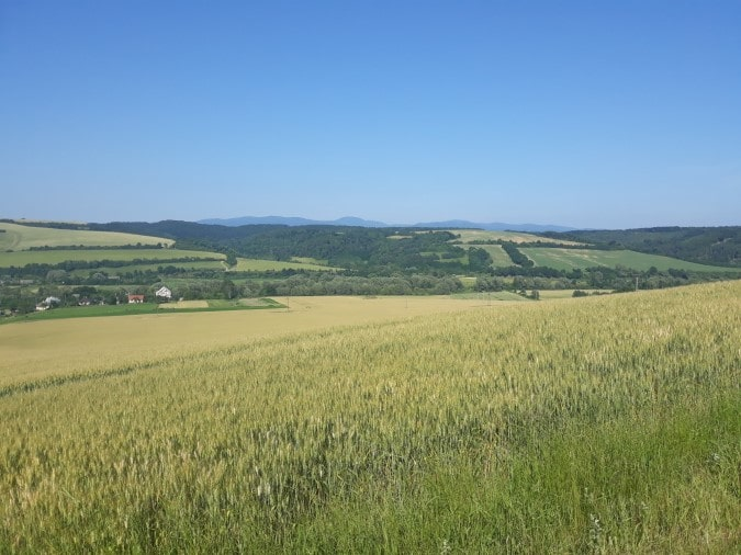 random view on the way to Radatice
